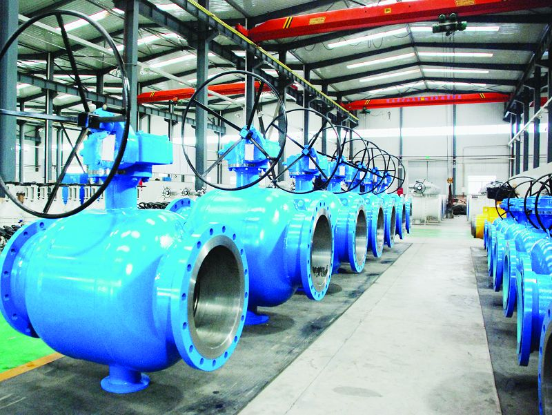 Flanged City Gas Fully welded ball valves