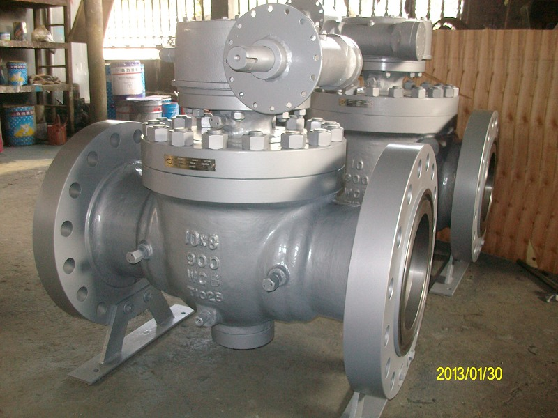 900lbs WCB Reduced bore top entry ball valve