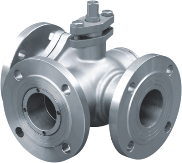 T-Type three way ball valves