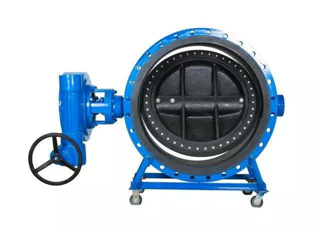 Double flanged Triple eccentric sea water butterfly valves