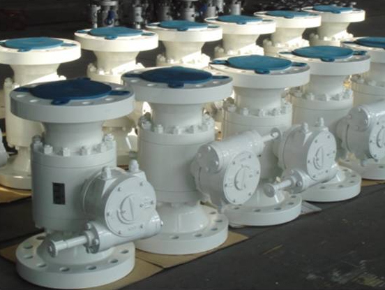 three pieces body forged floating ball valves