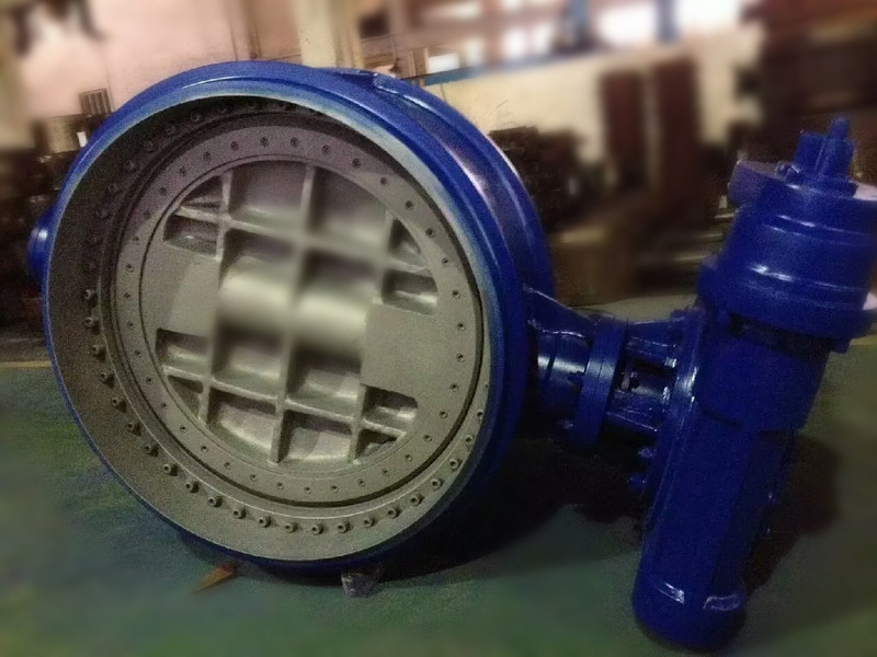 Full Metal to metal seal district heating butterfly valves