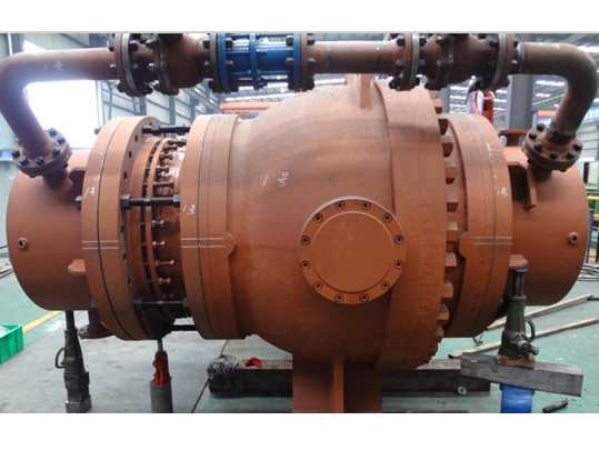 water power station water turbine inlet ball valves