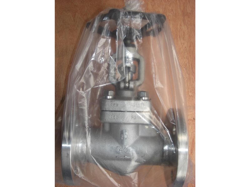 DIN Welded Flanged F316Ti Globe valve