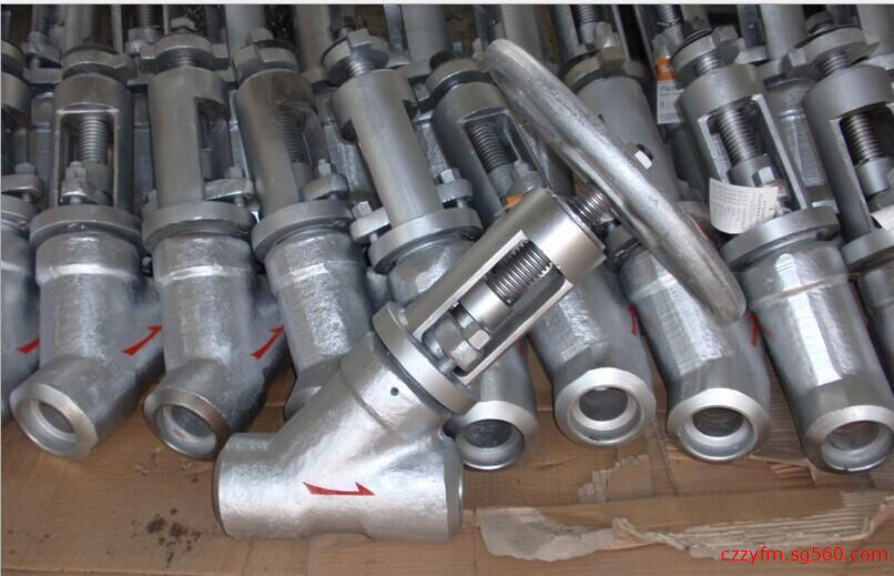 Forged steel Y type globe valve