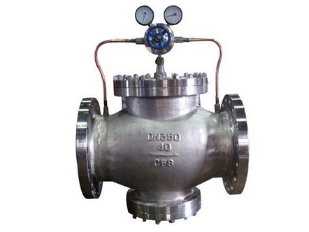 CF8 PN40 DN350 Pilot Operated Pressure reducing valve