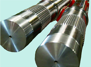 double shaft for double shaft shredders