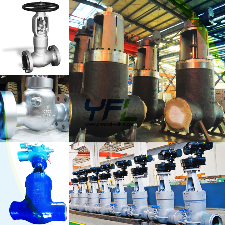 power station C12A pressure seal valves