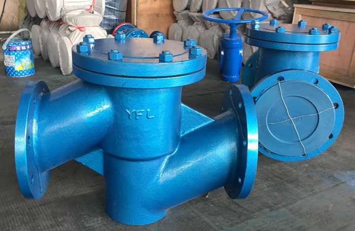 rubber lined lift type check valve
