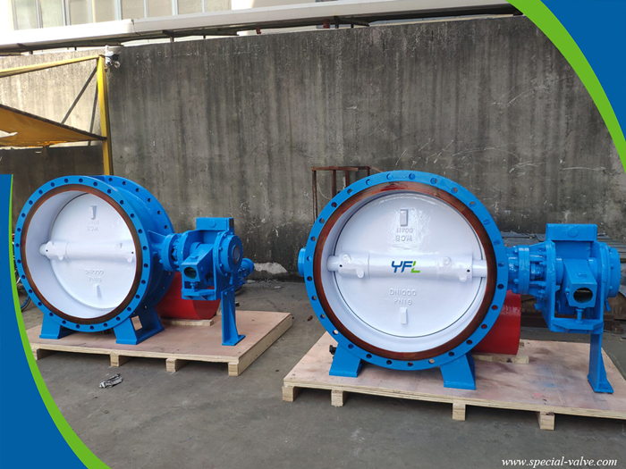 hydraulic slow closing butterfly valve for pump