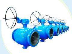 City gas fully welded ball valves