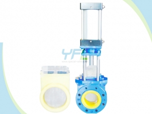 Polyurethane Lined Knife Gate Valve