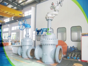 double wedge disc slab gate valves