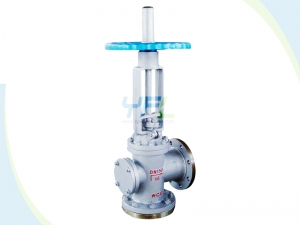 Angle type dumping valves