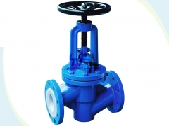Fluorine lined ball valves