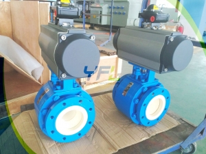O-port ceramic ball valve