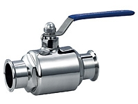 No detenstion sanitary ball valve by YFL