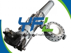 Pneumatic Emergency Shut Down Butterfly Valve by YFL
