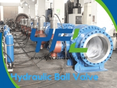 Hydraulic Ball Valves For Hydro Power Plants by YFL