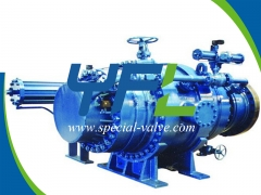 Hydraulic Ball Valve With Bypass System by YFL