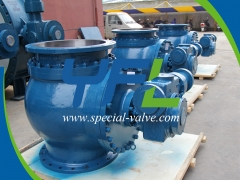 Hydraulic Eccentric Semi Sphere Valves by YFL