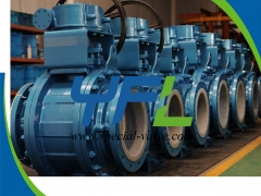 Teflon Lined Ball Valves for corrosive service by YFL