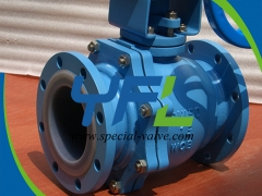 PFA Lined Floating ball valves