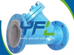 FEP Lined Y Type Strainer by YFL