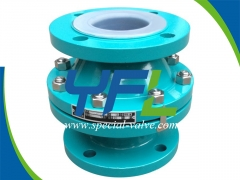 Reliable PFA Lined Ball Type Check Valve Supplier