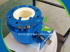 Corrosion Resistant Ceramic Ball Valves by YFL